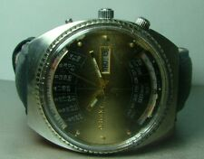VINTAGE ORIENT AUTOMATIC DAY DATE MONTH WEEK YEAR USED WRIST WATCH P285 ANTIQUE