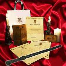 Harry Potter Style REAL WITCHES WAND! + Marauders Map + Hogwarts Train Ticket