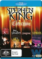 PRE-ORDER: STEPHEN KING COLLECTION (4 movies) -  Blu Ray - Sealed Region B