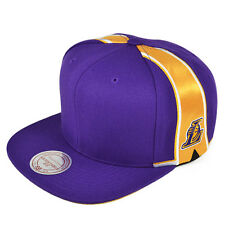 Los Angeles Lakers BLANK FRONT SNAPBACK Mitchell & Ness NBA Hat
