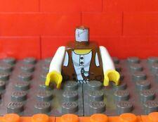 Lego Torso Desert Vest/Waistcoat, Slingshot/Catapult, RARE, 973px190 Adventurers