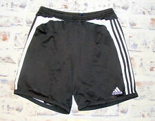 Size XL Adidas Climalite vintage 90s baggy long sports shorts black/white (HB98)