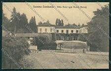 Varese Somma Lombardo cartolina QQ6684