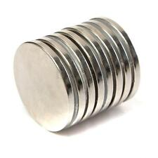 10PCS Super Strong Round Magnets 30mm x 3mm Disc Rare Earth Neo Neodymium N52