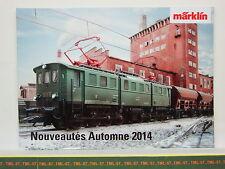 Catalogue MARKLIN Nouveautés 2014 F Automne Neuf 48 p