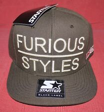 Starter Furious Styles - Boyz N The Hood Brown Snapback Cap Hat - NEW - RARE!