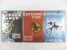 Lot of 3 Suzanne Collins THE HUNGER GAMES TRILOGY Scholastic Press