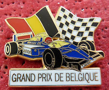 PIN'S F1 FORMULA ONE WILLIAMS RENAULT GRAND PRIX DE BELGIQUE BLANCHE ZAMAC