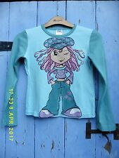 Vintage Girls T.shirt/top  age 7-8 100% Cotton BNWOT by Girls Unlimited. Perfect
