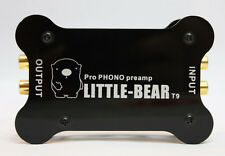 Little bear T9 Metal case MM cart Phono Turntable RIAA Preamp preamplifier UK