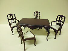 Quality 1/12th  Dolls House Furniture  Dining Room Set    3269