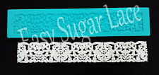 Silicone DUCHESSE CAKE LACE Mat / Mold for Edible Sugar Lace FREE Shipping