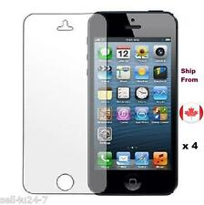 4x pcs Ultra Clear HD Screen Guard Protector Film for iPhone 5 5C 5S 5G
