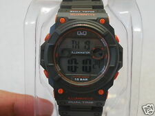 Q&Q by Citizen Illuminator Dual Time Men's Sports Watch -- (M140J003Y)