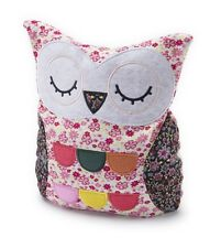 Intelex Hooty Owl Pink Floral Microwavable Bed Time Teddy Heatable Christmas