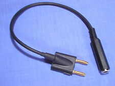 MONO HEADPHONE OUTPUT ADAPTOR LEAD for NAGRA III REEL TO REEL TAPE RECORDER