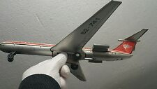 VINTAGE TIN TOY JET IL 62 FRICTION INTERCONTINENTAL AIRLINE AIRPLANE CA-ILS 62