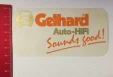 Aufkleber/Sticker: Gelhard Auto-HiFi - Sounds Good (18041657)