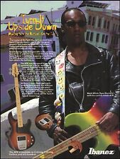 Mark White (The Spin Doctors) Ibanez Custom ATK Bass guitar 8 x 11 advertisement
