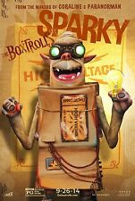 """THE BOX TROLLS Movie Poster - Flyer - 11x17"""" - SPARKY VERSION"""