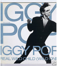 45 RPM MAXI 12'' IGGY POP REAL WILD CHILD (WILD ONE)
