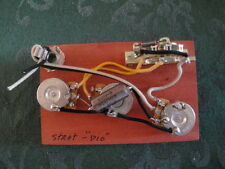 "MADE FOR STRATOCASTER,  WIRING HARNESS CTS CLR ""PIO"" SWITCHCRAFT PROJECT PARTS"
