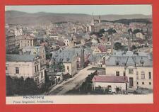 Reichenberg kolorierte Karte 1910? Böhmen Sudeten. Historisches Stadtbild Kirche