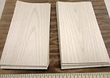 "Maple wood veneer 3"" x 6"" with paper backer 1/40th"" overall thickness ""A"" grade"