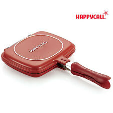 Happycall Double Sided Mini Pressure Frying Pan RED Frying Pan Korea Happy Call