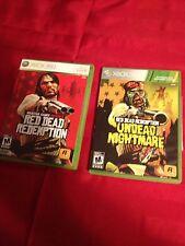 Red Dead Redemption Xbox 360 Lot- Original & Undead L@@K