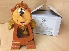 BRAND NEW DISNEY COGSWORTH CLOCK BEAUTY & THE BEAST STATUE ORNAMENT