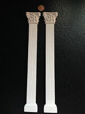 "WP107&109 - 11"" Fluted Column & Ornate Capital Top A - RepliCast Miniatures Doll"
