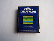 Atari 2600 Activision Decathlon Tested & Working