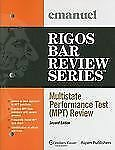 Multistate Performance Test (Mpt) Review 2010 (Emanuel Rigos Bar Revie-ExLibrary
