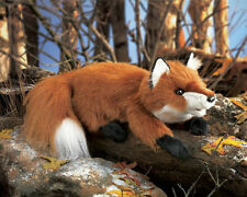 """SMALL RED FOX Puppet ~ 15"""" LONG ~ #2576 ~ Free Ship in USA ~ Folkmanis Puppets"""