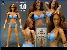 TRIAD TOYS HISPANIC OTAKU FEMALE 12 INCH OR 1/6 SCALE ACTION FIGURE TAN BODY