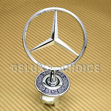 HOOD BONNET BADGE SPRING MOUNTED fit W202 W203 W204 W208 W210 W211 MERCEDES BENZ