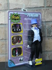 "BLACK MASK VARIANT PENGUIN 1966 Classic TV Batman Series Retro 8 "" Action Figure"