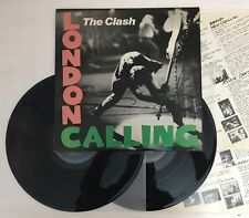 The Clash - London Calling - 1979 1st Press Vinyl LP E2 36328 Near Mint (NM)