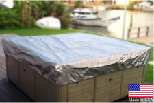 SUPER HEAVY DUTY Spa Cover Hot Tub Cover Guard & Cap & Protector 7'X7' Sundance