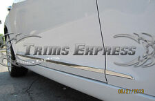 2014-2016 Cadillac ATS Coupe 2Dr 6Pc Chrome Lower Flat Body Side Moulding Trim