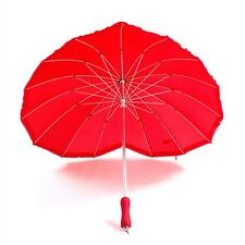 Newly Heart Shaped Umbrella Bridal Parasol Weddings Party Photo Shoots Props