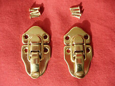 Brass Guitar/Instrument Case Latch/latches-for many USA Brands-Set of 2+ Rivets
