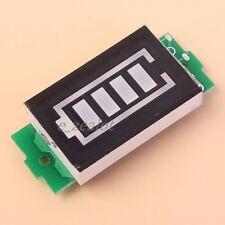 4.2V Single Lithium Battery Capacity Indicator Display Board Blue Display