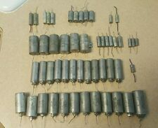 PIO Oil capacitor assortment, Sangamo, Sprague, Gudeman, west cap, CDE, Mallory