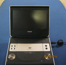 "Philips PET824 Portable DVD Player 8.5"" FREE CASE! EXCELLENT PORTABLE DVD PLAYER"