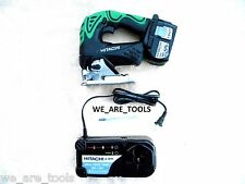 NEW HITACHI CJ18DL 18V CORDLESS JIG SAW, EBM1830 BATTERY, CHARGER 18 VOLT JIGSAW