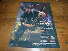 MICK THOMSON - SLIPKNOT !!!!!!!!!!1!FRENCH PRESS ADVERT