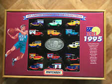 MATCHBOX 1995 LTD ED NBL CLUB BOXED SET 14 x MB38 FORD CARS IN DISPLAY CASE RARE