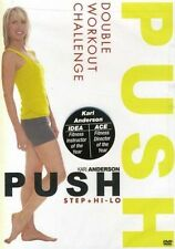 Step Aerobics EXERCISE DVD - PUSH Kari Anderson - Step and Hi Lo - 2 Workouts